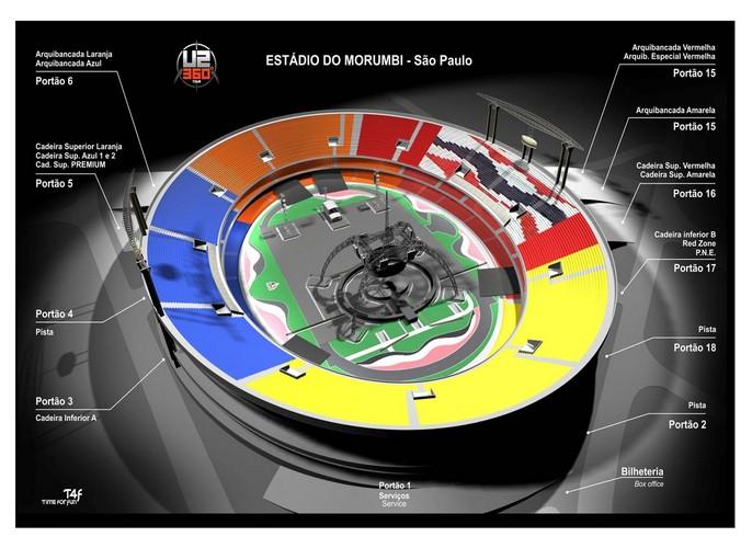 fe9dfb0f9 U2: poucas semanas para o show, veja informações detalhadas da turnê em São  Paulo .
